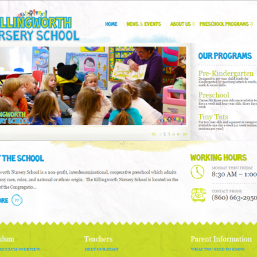 School Rebranding & Website